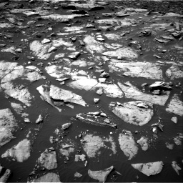 Nasa's Mars rover Curiosity acquired this image using its Right Navigation Camera on Sol 1507, at drive 486, site number 59