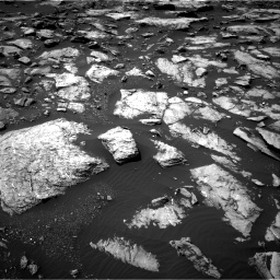 Nasa's Mars rover Curiosity acquired this image using its Right Navigation Camera on Sol 1507, at drive 498, site number 59