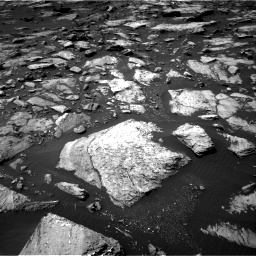 Nasa's Mars rover Curiosity acquired this image using its Right Navigation Camera on Sol 1507, at drive 504, site number 59