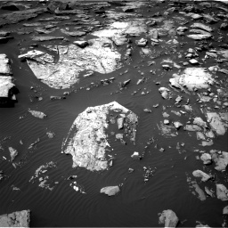 Nasa's Mars rover Curiosity acquired this image using its Right Navigation Camera on Sol 1507, at drive 522, site number 59