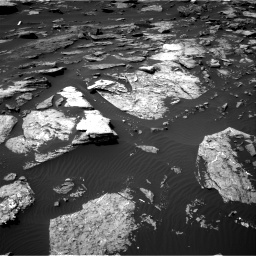 Nasa's Mars rover Curiosity acquired this image using its Right Navigation Camera on Sol 1507, at drive 534, site number 59