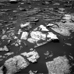 Nasa's Mars rover Curiosity acquired this image using its Right Navigation Camera on Sol 1507, at drive 540, site number 59