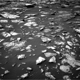 Nasa's Mars rover Curiosity acquired this image using its Right Navigation Camera on Sol 1507, at drive 558, site number 59