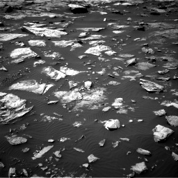 Nasa's Mars rover Curiosity acquired this image using its Right Navigation Camera on Sol 1507, at drive 564, site number 59