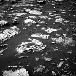 Nasa's Mars rover Curiosity acquired this image using its Right Navigation Camera on Sol 1507, at drive 570, site number 59