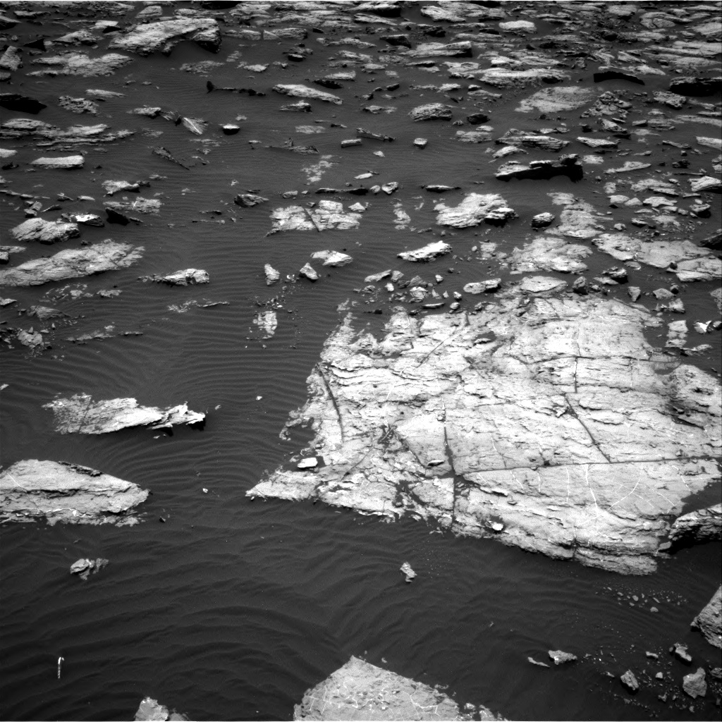 Nasa's Mars rover Curiosity acquired this image using its Right Navigation Camera on Sol 1507, at drive 576, site number 59
