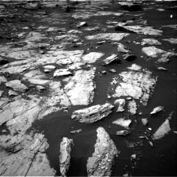 NASA's Mars rover Curiosity acquired this image using its Right Navigation Cameras (Navcams) on Sol 1507