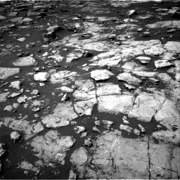 Nasa's Mars rover Curiosity acquired this image using its Right Navigation Camera on Sol 1507, at drive 600, site number 59