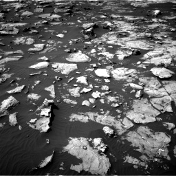 Nasa's Mars rover Curiosity acquired this image using its Right Navigation Camera on Sol 1507, at drive 606, site number 59