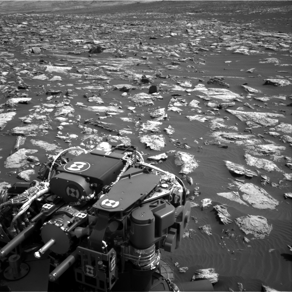 Nasa's Mars rover Curiosity acquired this image using its Right Navigation Camera on Sol 1507, at drive 612, site number 59