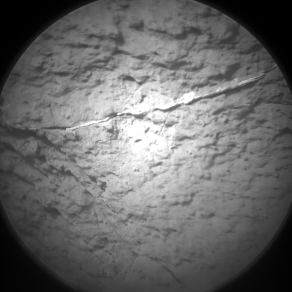 Nasa's Mars rover Curiosity acquired this image using its Chemistry & Camera (ChemCam) on Sol 1508, at drive 936, site number 59