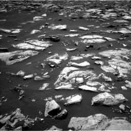 Nasa's Mars rover Curiosity acquired this image using its Left Navigation Camera on Sol 1508, at drive 654, site number 59