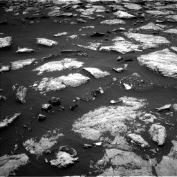 Nasa's Mars rover Curiosity acquired this image using its Left Navigation Camera on Sol 1508, at drive 678, site number 59
