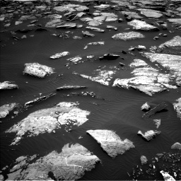 Nasa's Mars rover Curiosity acquired this image using its Left Navigation Camera on Sol 1508, at drive 690, site number 59