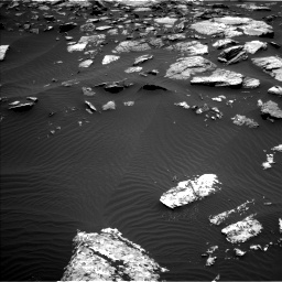 Nasa's Mars rover Curiosity acquired this image using its Left Navigation Camera on Sol 1508, at drive 708, site number 59