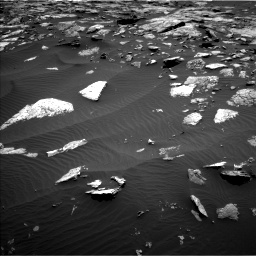 Nasa's Mars rover Curiosity acquired this image using its Left Navigation Camera on Sol 1508, at drive 720, site number 59
