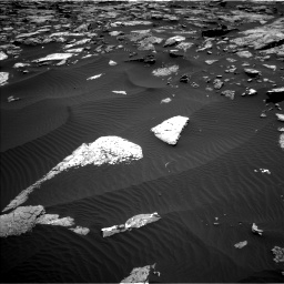 Nasa's Mars rover Curiosity acquired this image using its Left Navigation Camera on Sol 1508, at drive 726, site number 59