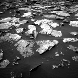 Nasa's Mars rover Curiosity acquired this image using its Left Navigation Camera on Sol 1508, at drive 732, site number 59
