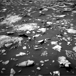 Nasa's Mars rover Curiosity acquired this image using its Left Navigation Camera on Sol 1508, at drive 762, site number 59