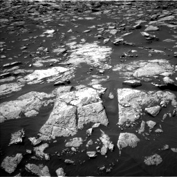 Nasa's Mars rover Curiosity acquired this image using its Left Navigation Camera on Sol 1508, at drive 780, site number 59