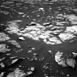 Nasa's Mars rover Curiosity acquired this image using its Left Navigation Camera on Sol 1508, at drive 810, site number 59