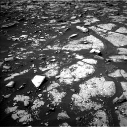 Nasa's Mars rover Curiosity acquired this image using its Left Navigation Camera on Sol 1508, at drive 918, site number 59