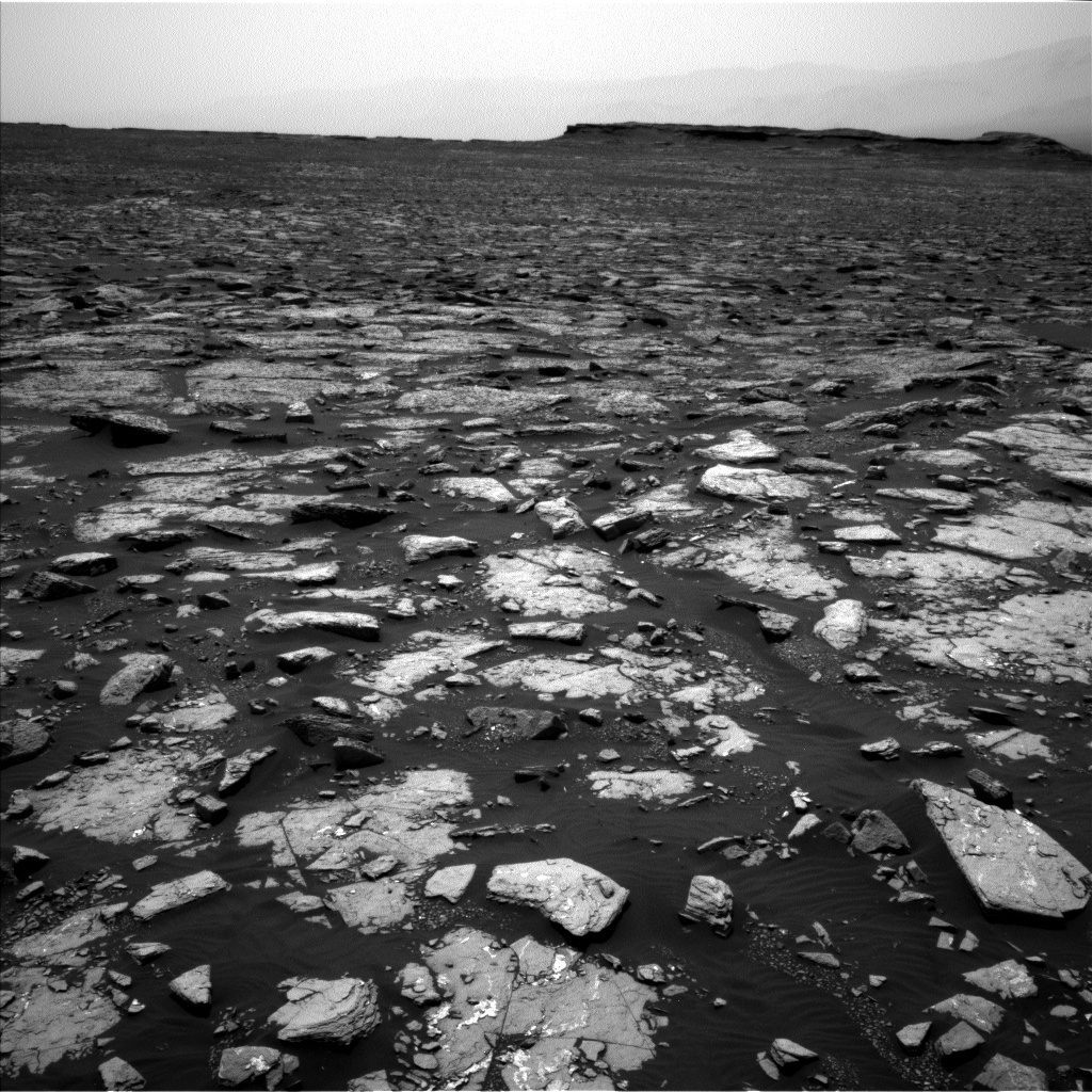 Nasa's Mars rover Curiosity acquired this image using its Left Navigation Camera on Sol 1508, at drive 936, site number 59