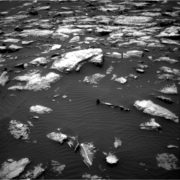 Nasa's Mars rover Curiosity acquired this image using its Right Navigation Camera on Sol 1508, at drive 612, site number 59