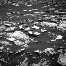Nasa's Mars rover Curiosity acquired this image using its Right Navigation Camera on Sol 1508, at drive 624, site number 59