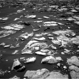 Nasa's Mars rover Curiosity acquired this image using its Right Navigation Camera on Sol 1508, at drive 654, site number 59