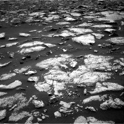 Nasa's Mars rover Curiosity acquired this image using its Right Navigation Camera on Sol 1508, at drive 666, site number 59