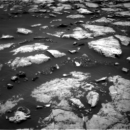 Nasa's Mars rover Curiosity acquired this image using its Right Navigation Camera on Sol 1508, at drive 678, site number 59