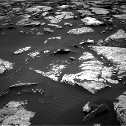Nasa's Mars rover Curiosity acquired this image using its Right Navigation Camera on Sol 1508, at drive 696, site number 59