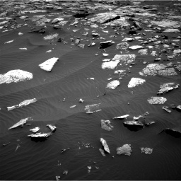 Nasa's Mars rover Curiosity acquired this image using its Right Navigation Camera on Sol 1508, at drive 720, site number 59