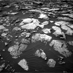 Nasa's Mars rover Curiosity acquired this image using its Right Navigation Camera on Sol 1508, at drive 744, site number 59