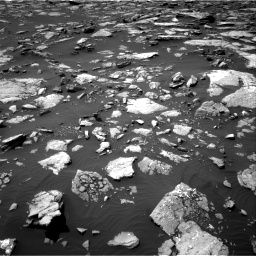 Nasa's Mars rover Curiosity acquired this image using its Right Navigation Camera on Sol 1508, at drive 756, site number 59