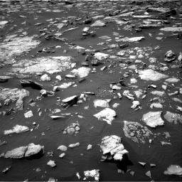 Nasa's Mars rover Curiosity acquired this image using its Right Navigation Camera on Sol 1508, at drive 762, site number 59
