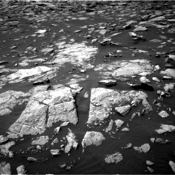 Nasa's Mars rover Curiosity acquired this image using its Right Navigation Camera on Sol 1508, at drive 780, site number 59
