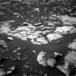 Nasa's Mars rover Curiosity acquired this image using its Right Navigation Camera on Sol 1508, at drive 804, site number 59