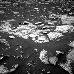 Nasa's Mars rover Curiosity acquired this image using its Right Navigation Camera on Sol 1508, at drive 810, site number 59