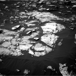 Nasa's Mars rover Curiosity acquired this image using its Right Navigation Camera on Sol 1508, at drive 834, site number 59