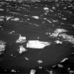 Nasa's Mars rover Curiosity acquired this image using its Right Navigation Camera on Sol 1508, at drive 864, site number 59
