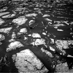 Nasa's Mars rover Curiosity acquired this image using its Right Navigation Camera on Sol 1508, at drive 888, site number 59