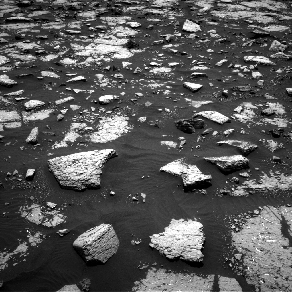 Nasa's Mars rover Curiosity acquired this image using its Right Navigation Camera on Sol 1508, at drive 900, site number 59