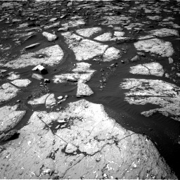 Nasa's Mars rover Curiosity acquired this image using its Right Navigation Camera on Sol 1508, at drive 906, site number 59