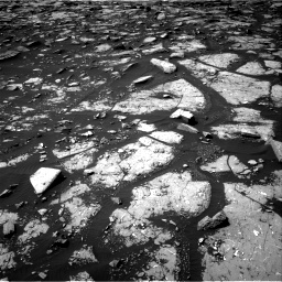 Nasa's Mars rover Curiosity acquired this image using its Right Navigation Camera on Sol 1508, at drive 918, site number 59