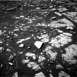 Nasa's Mars rover Curiosity acquired this image using its Right Navigation Camera on Sol 1508, at drive 924, site number 59