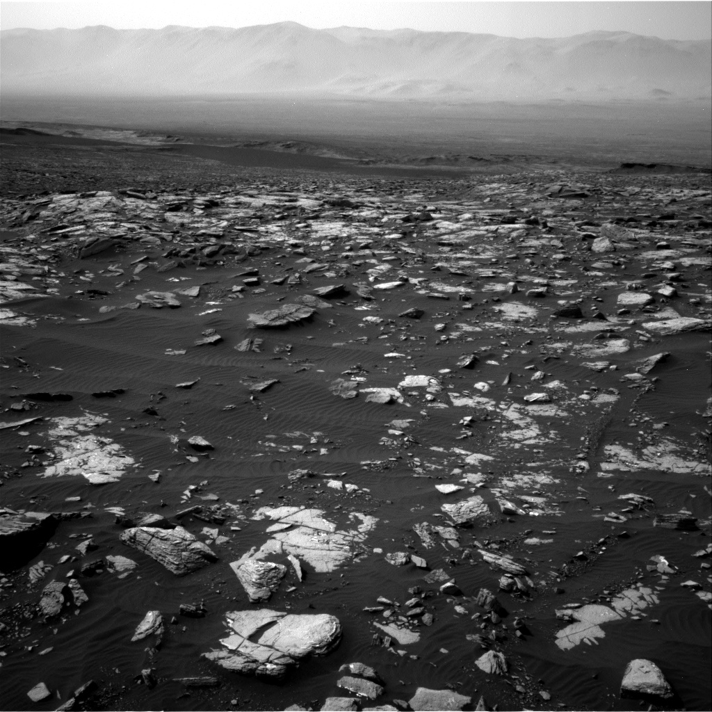 Nasa's Mars rover Curiosity acquired this image using its Right Navigation Camera on Sol 1508, at drive 936, site number 59