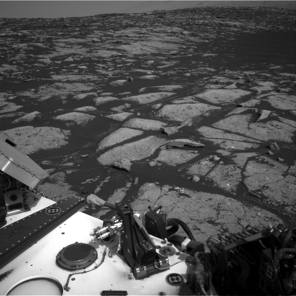 NASA's Mars rover Curiosity acquired this image using its Right Navigation Cameras (Navcams) on Sol 1508