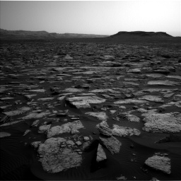 Nasa's Mars rover Curiosity acquired this image using its Left Navigation Camera on Sol 1509, at drive 1050, site number 59